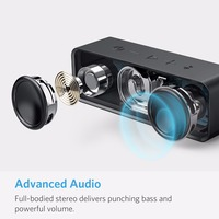 Anker Soundcore Portable Wireless Bluetooth Speaker with Dual-Driver Rich Bass 24h Playtime 66 ft Bluetooth Range & Built-in Mic 2