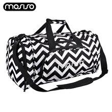 Купить с кэшбэком MOSISO Multifunction Men Travel Bags Training Gym Bag Men Woman Travel Duffel Bags for Man Large Capacity Shoulder Handbag Hot