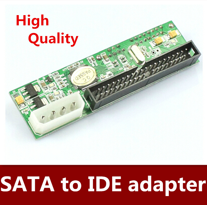 Hot sale 5pcs/lot JM20330 chip SATA to IDE hard disk adapter card, serial to IDE card Free shipping
