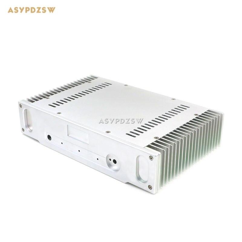 1969 Aluminum Enclosure power amplifier chassis Class A AMP box dual heatsink