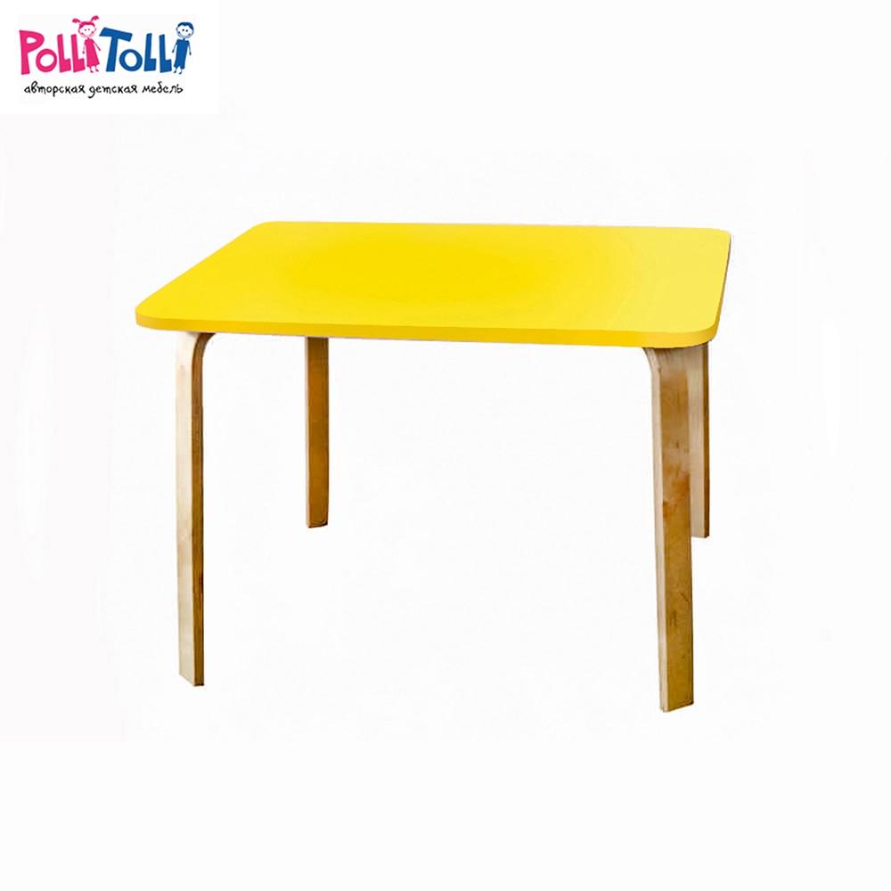 Children Tables Polli Tolli 33659 children tables multicolored the animals furniture недорого