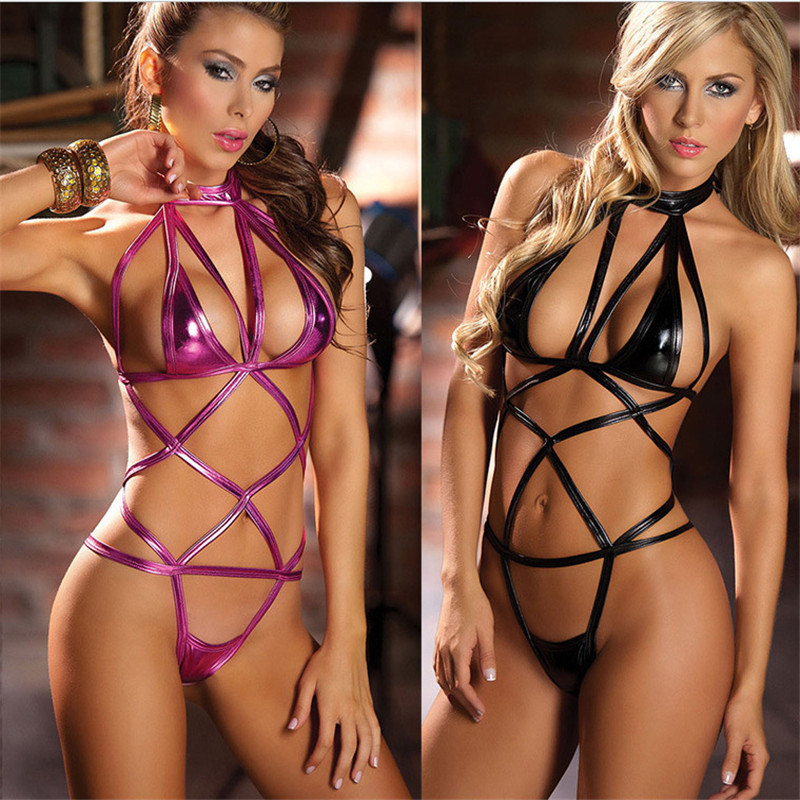 Women Sexy Lingerie Hot Erotic Underwear Fashion Hollow Out Dance Club Sexy Babydoll Bandage Costumes Sexy Lingerie Sleepwear