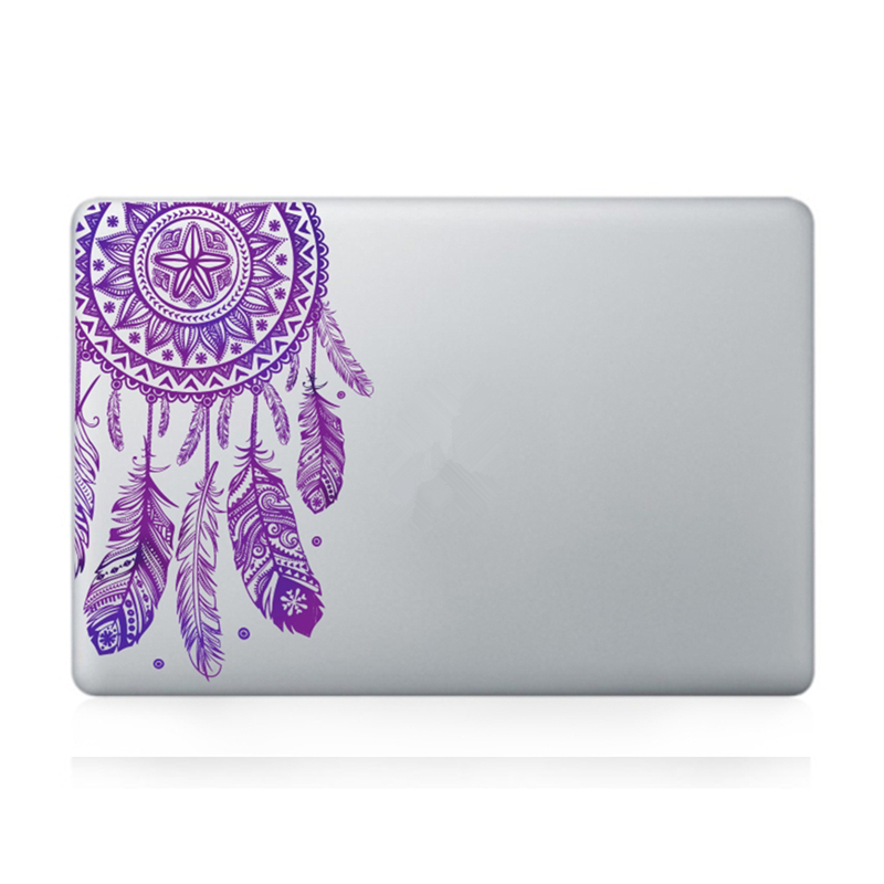 Veer Patroon Bloemen Vinyl Decal Laptop Sticker Voor Macbook Air Pro - Notebook accessoires - Foto 3