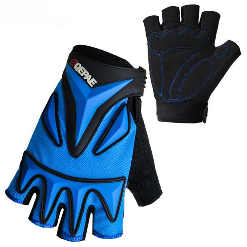 Cycling gloves half finger mtb mountain road bike gloves gel sport camping tactical down ...
