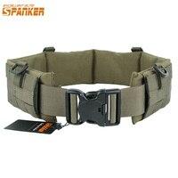 EXCELLENT ELITE SPANKER Outdoor Tactical Vest Belt Equipment Molle Padded Patrol Belt Wear Bag Military Utility Waist Hanging