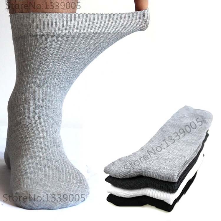 43-49 Plus Size Mans High Quality Brand Dress Socks Combed Cotton Mens Socks Deodorization Breathable Business Cotton Socks