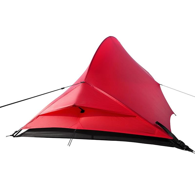 De Gratis Geesten TFS PANGOLIN2.0 Eenzijdige siliconen Coating 2 persoon 3 Seizoen Ultralight Waterdichte Camping Tent Black Label - 3