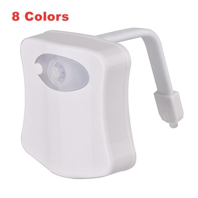 8 Colors Toilet LED