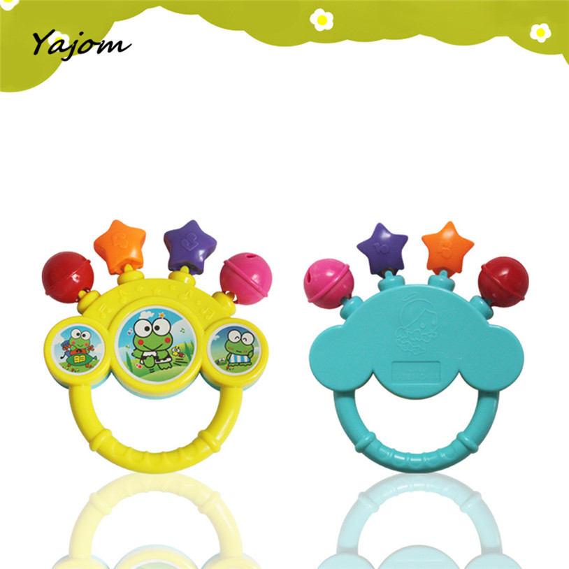 2017 New Baby Kids  Baby Bell Toy Hand On The Toy Baby Birthday Gift  Great Gift Brand New High Quality Apr 10