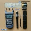 2 Em 1 Kit de Ferramentas De Fibra Óptica FTTH Medidor de Potência Óptica de SG86AR70-70 a + 10dBm e 20 mW Localizador Visual da Falha da Fibra óptica caneta de teste