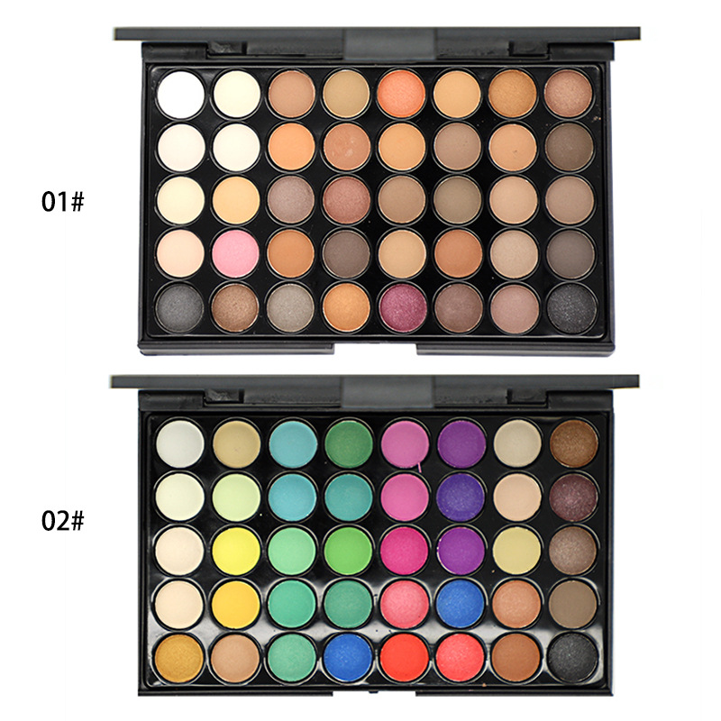 Make Up Set 40 Colors Multicolor Eyeshadow Palette Blush Powders Eyebrow Beauty Cosmetic Set for Women