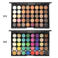 Make Up Set 40 Colors Multicolor Eyeshadow Palette Blush Powders Eyebrow Beauty