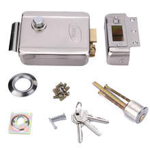 Home Stainless Steel Electronic Door Lock For Video Doorphone Intercom