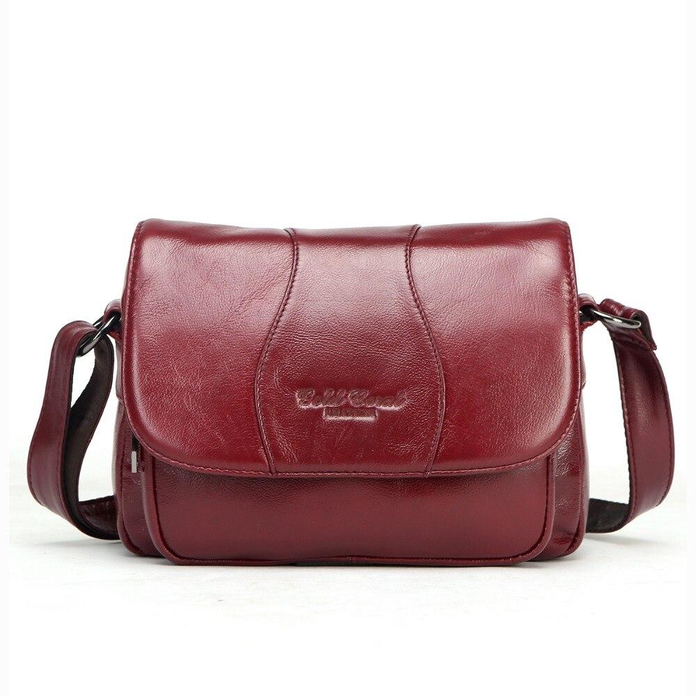 mulheres bolsas de compras de Material Principal : Couro Genuíno