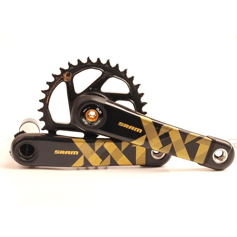 SRAM XX1 EAGLE DUB SL 38T 36T 34T 170mm 175mm MTB Bicycle Crankset