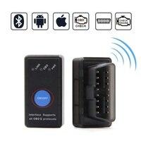 2 OBD2 Scanner Bluetooth 4.0 OBD ii iOS Leitor De Código de Diagnóstico auto Scan Tool Gadget Acessórios Do Carro com Interruptor