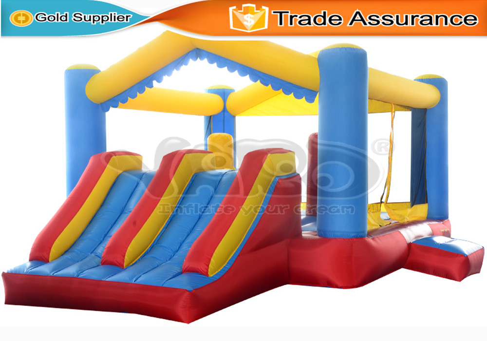 Yard Residential Inflatable Bounce House Mini Trampoline