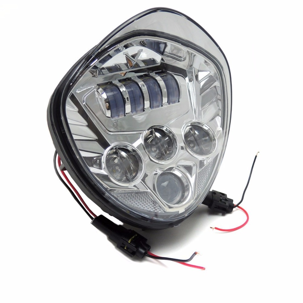 Promption! Headlight Kit Sepeda Motor LED - Cross Country Intensitas - Lampu mobil - Foto 3