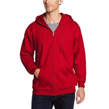 Spring and Autumn New Zipper Pullover Hooded Mens Solid Color Cardigan Jacket Casual Sweatshirt