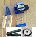 SUMITOMO FC-6S Optical FIBER Cleaver fibra, kit de herramienta de fibra FTTH con Miller CFS-2 alicates de cuchilla de la fibra cable stripper