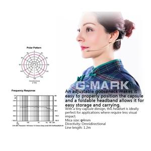 Image 3 - G MARK auriculares/micrófono para sistema inalámbrico, cascos profesionales plegables con caja de embalaje para parabrisas