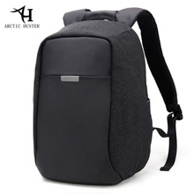 ARCTIC HUNTER New Men's Backpack External USB Charge Anti theft Notebook Computer Backpack For Teenagers Men Women School Bags