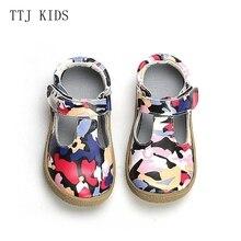 COPODENIEVE, высококачественные детские ботинки из натуральной кожи для девочек, модные босоножки Мэри Джейн, бесплатная доставка