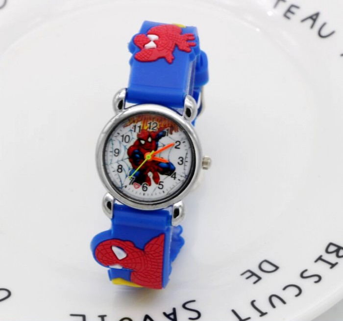 Watches New 2018 Fashion Spider Man Girls Boy Quartz Watch Kids Cute Childrens Cartoon Watches Jelly Watch Kids Hour Relogio Relojes