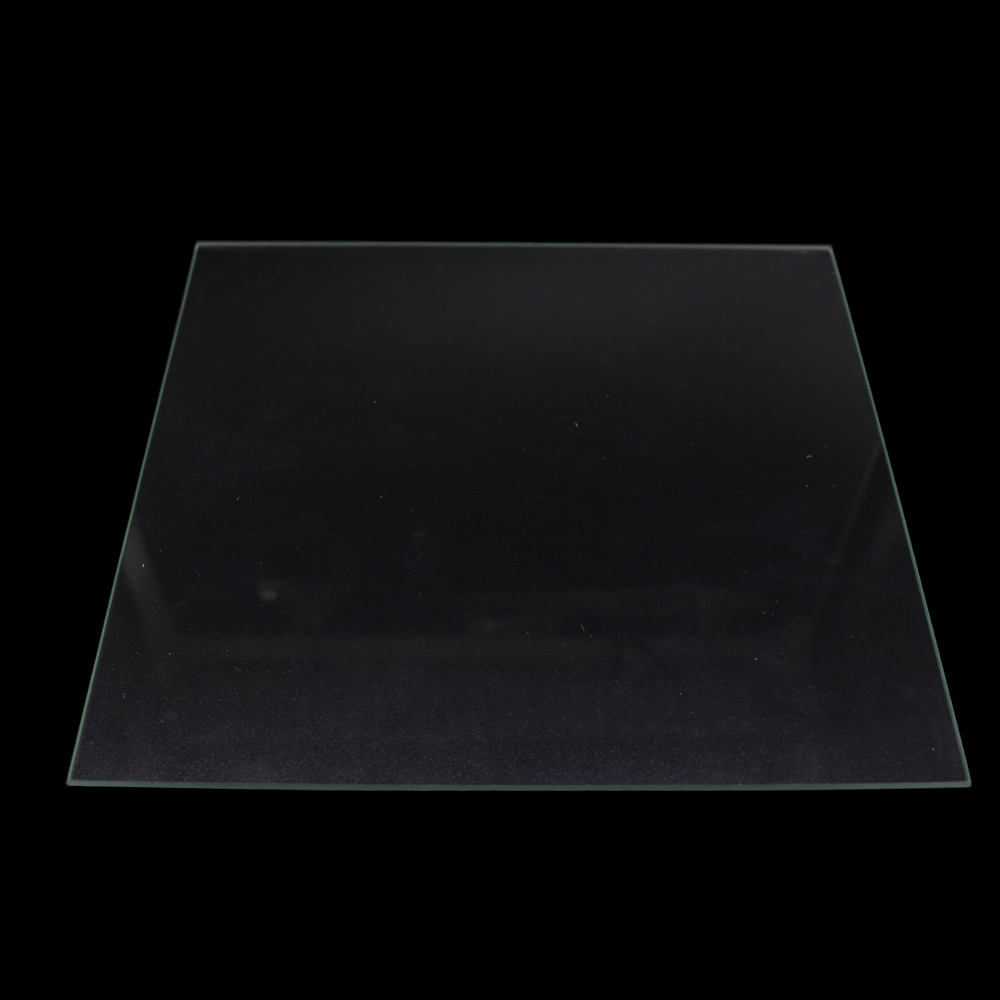 Funssor 3D Printers Parts 330*330*3mm Borosilicate Glass Plate Polished Edge heated bed For DIY 3D printer