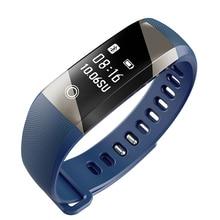 Смарт-браслеты A10 сердечного ритма Мониторы Bluetooth OLED умный Браслет Фитнес трекер Шагомер SMS напоминание Бесплатная доставка