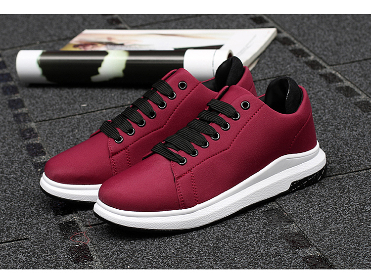 Stretch Fabric Casual Shoes Woman 2017 Fashion Spring Lace Up Ladies Shoes Breathable Women\'s Vulcanize Shoes Superstars ZD68 (4)