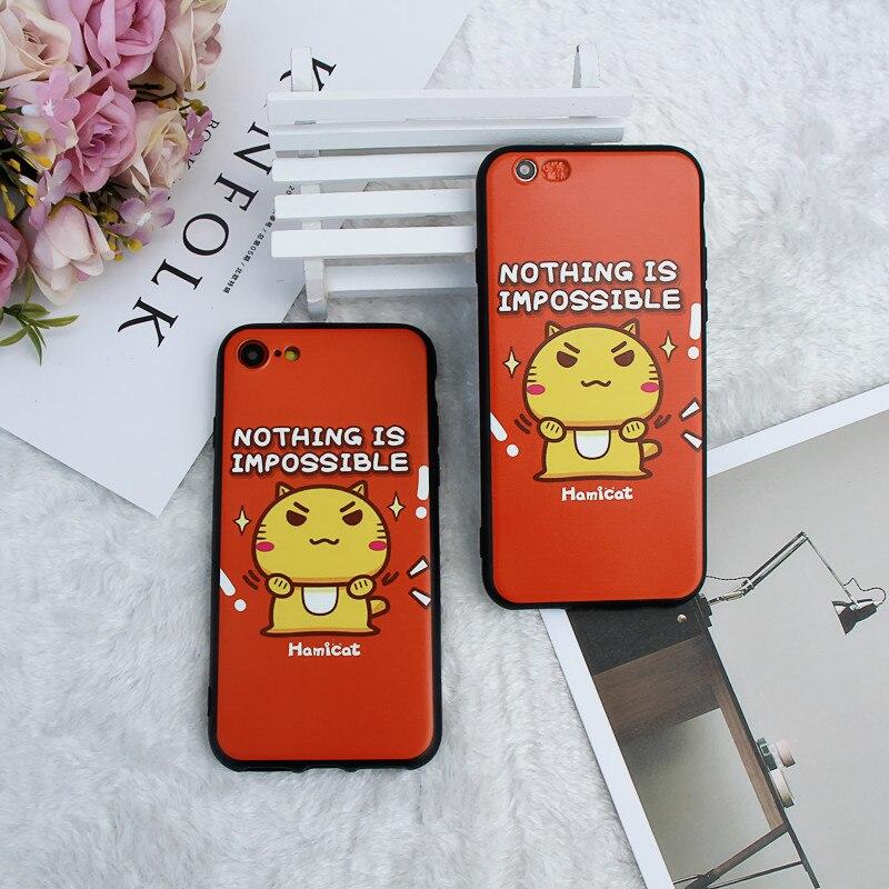 MPCQC High Quality Phone Case For iPhone X 8 7 6 s 6s Plus 6Plus 6sPlus 7Plus 8Plus Cartoon Frosted Originality Cover TPU Casing