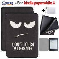 Funda para 2018 Amazon Kindle Paperwhite 4 PQ94WIF e-lector para 10 generación Paperwhite E-book Slim TPU funda + regalos