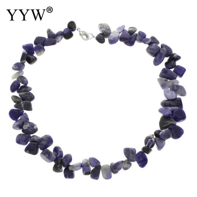 combinations by soadlite product crystal sodalite handmade necklace