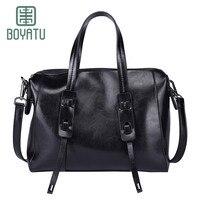 BOYATU Top Handle Bags Female Women 39 S Handbag Genuine Leather Shoulder Fashion Bags For Women