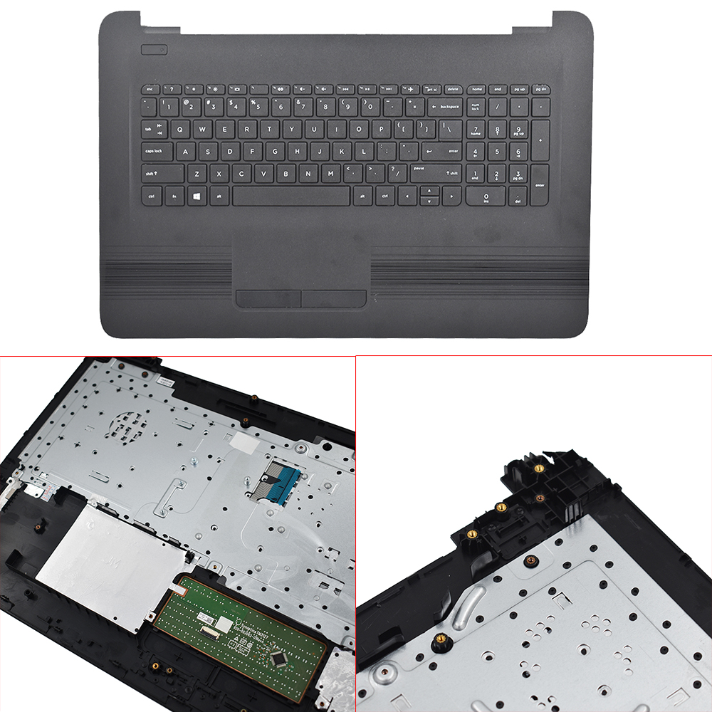 17-X 17-Y 17-x173dx Palmrest Case Keyboard Touchpad 4600BC050002521 For HP