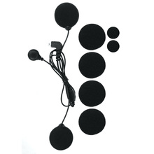 T MAX soft earphone headphone microphone work for T MAX motorcycle helmet intercom headset