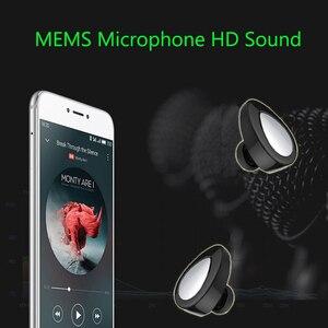 Image 4 - Aimitek K2 TWS Bluetooth Kulaklık Gerçek kablosuz kulaklık Mini Stereo Müzik Kulaklıklar Hands free Mic Ile Şarj Kutusu Telefonlar için