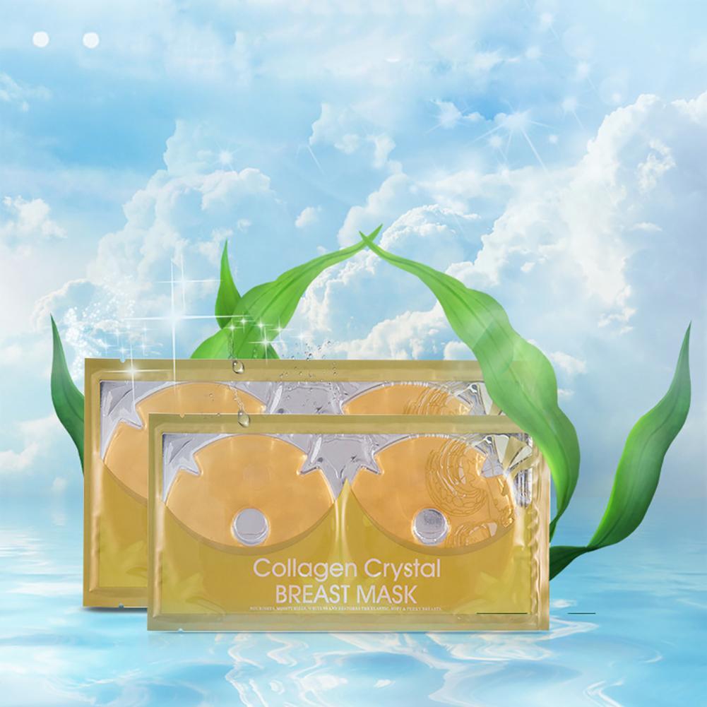 45g 1Pair Collagen Breast Mask Chest Enhancement Nourishing Bust Rejuvenation Newest