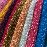 Мерцание ткани Металлизированный полиэстер украшение партии Блестящий шарф DIY Тильда швейная ткань 1 ярд