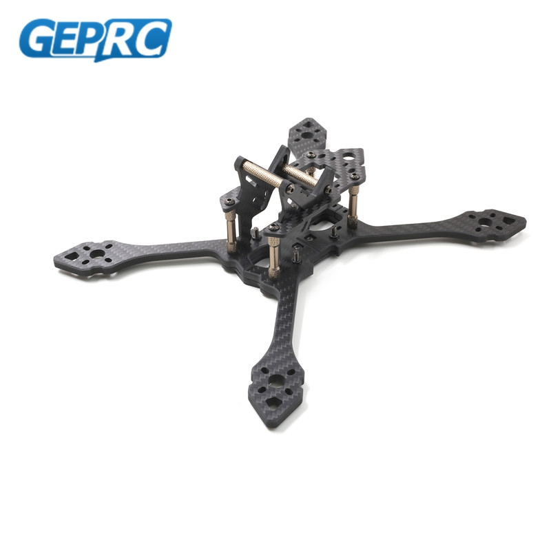 GEPRC GEP TSX5 Viper 220mm FPV RC Racing Frame Stretch X 5mm Arm Carbon Fiber Supports Runcam Swift Action FPV Camera Drone diy fpv rc drone geprc viper 220mm gep tsx5 thickness 5mm arms quadcopter 7075 aviation aluminum
