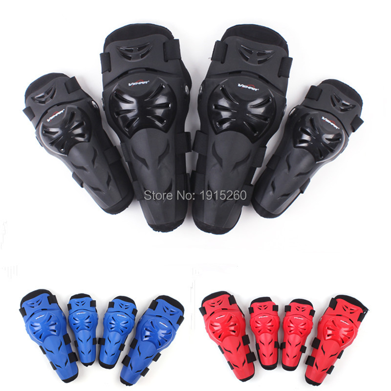 New 4pcs/Set Motorcycle Motorbike Knee Pads Elbow Pads Motocross off-road Racing Protector Pads Guards Protective Gear 5 Colors smith safety gear leopard elbow pads