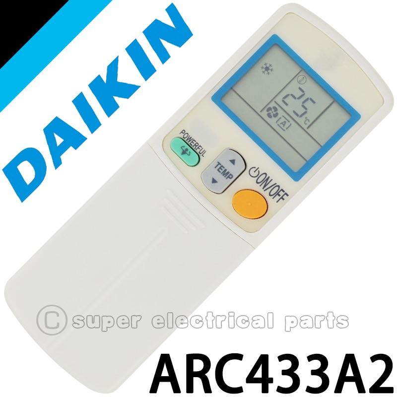 daikin remote control manual arc433a21
