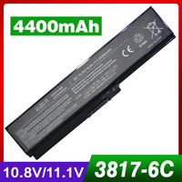 5200mAh Laptop Battery For Toshiba Satellite L750 L750D L650 PA3816U 1BAS PA3816U 1BRS PA3817U 1BAS PA3817U