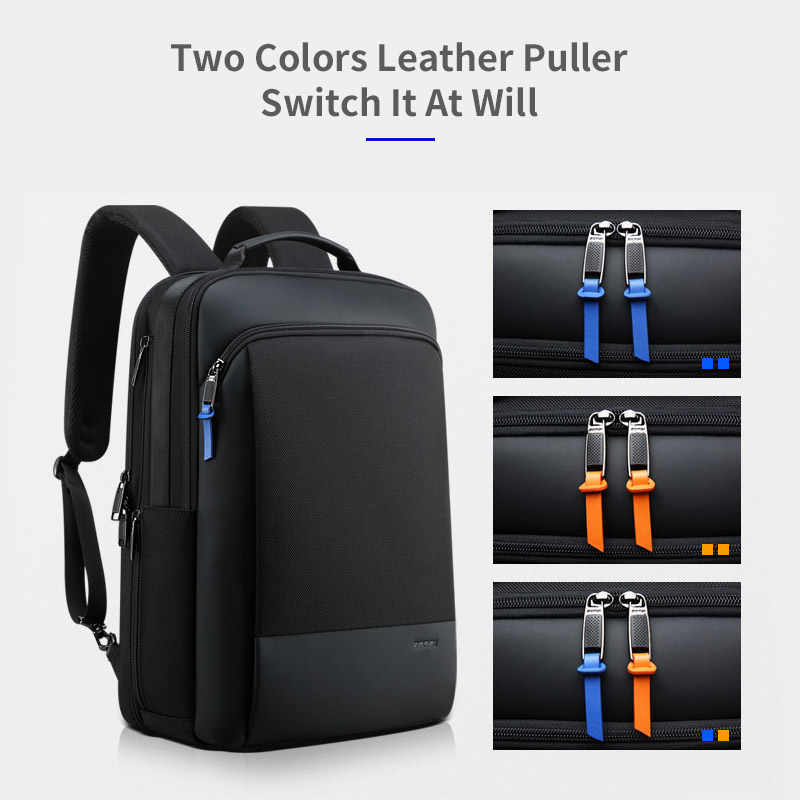BOPAI 2019 mochila para hombres, mochila de viaje expansible para fin de semana, mochila para ordenador portátil repelente al agua para hombres, mochila para ordenador, mochila masculina