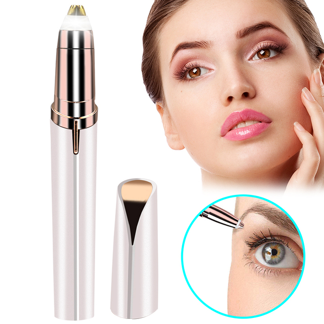 Mini  Instant  Electric Eyebrow Hair Removal Epilator