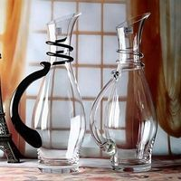 Handmade Crystal Red Wine Pourer Glass Decanter Brandy Decant Set Jug For The Bar Champagne Water Bottle Glasses Drinking