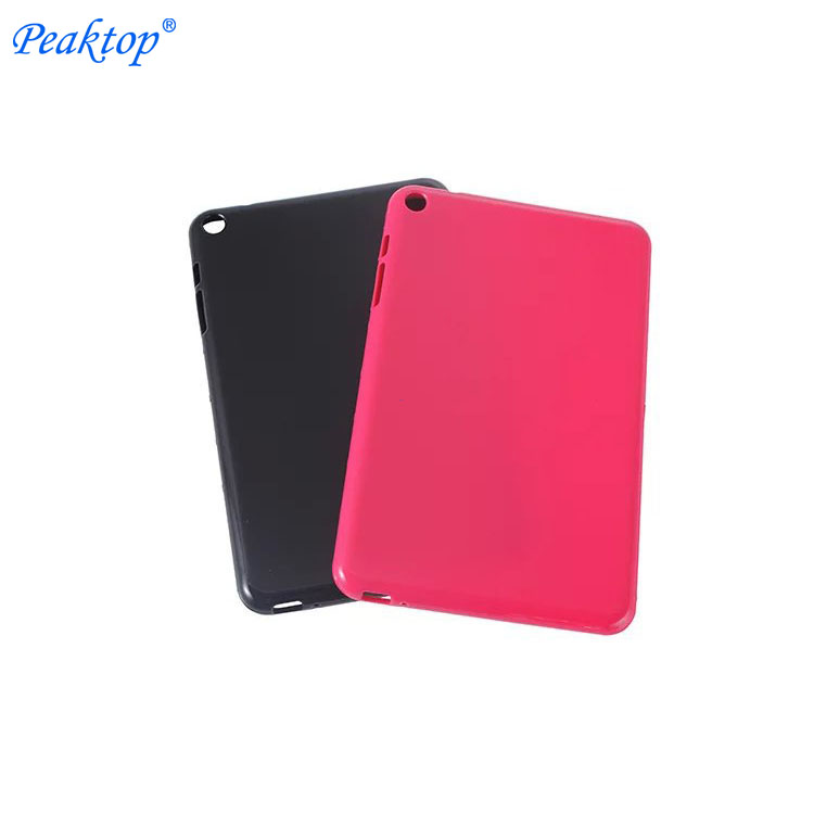 "For Huawei Mediapad T1 8.0"" S8-701U Soft Back Cover Case,For Huawei S8-701 S8-701W Tpu Silicone Full Protective Funda Shell"