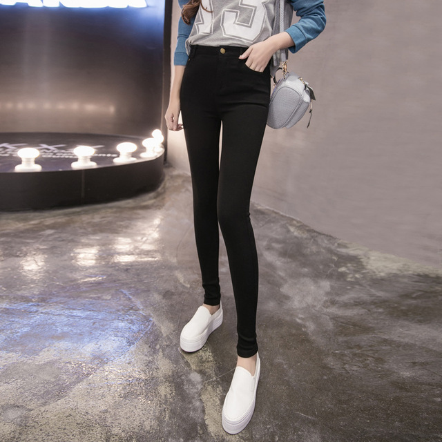 Leggins Limited Hot Sale Women Leggings In The Autumn Of 2016 New Diamond Spinning Large Code Stretch Pencil Pants Leggings