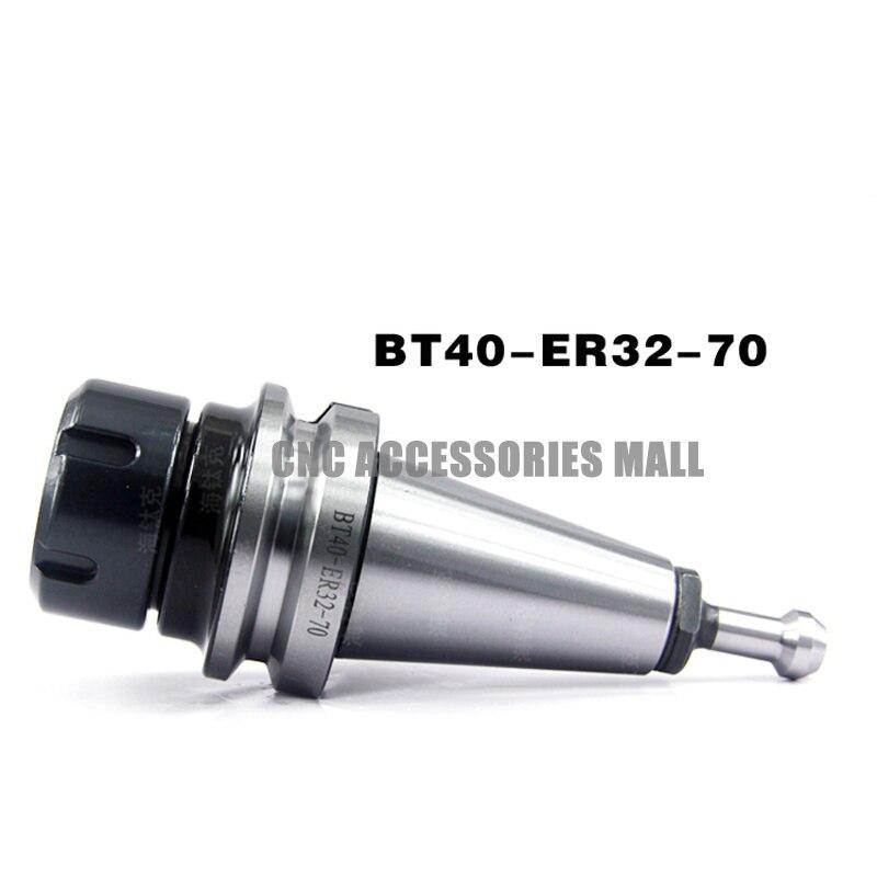 УВД шпинделя ручкой инструмента BT40-ER32-70 высокоточный инструмент держатель с BT40 x 45 градусов Потяните Стад
